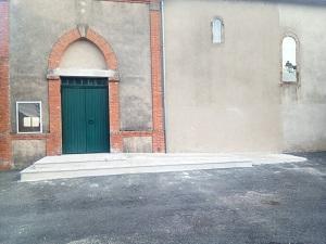 Accès église Paulinet